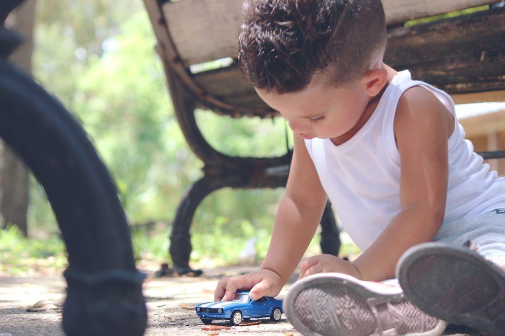 car, toy, childhood