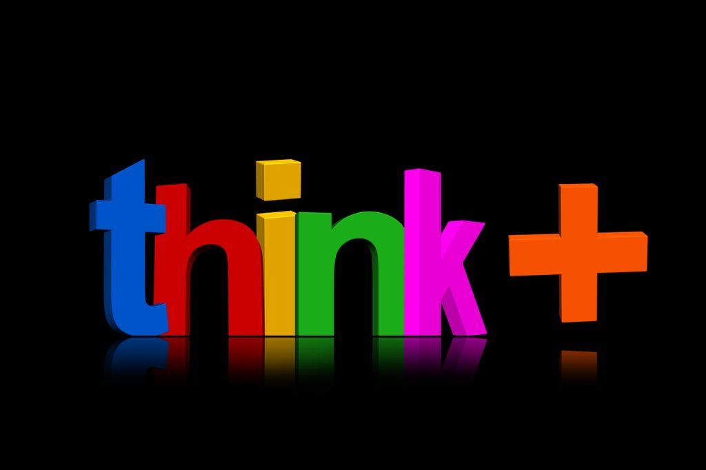 think, positive, optimism
