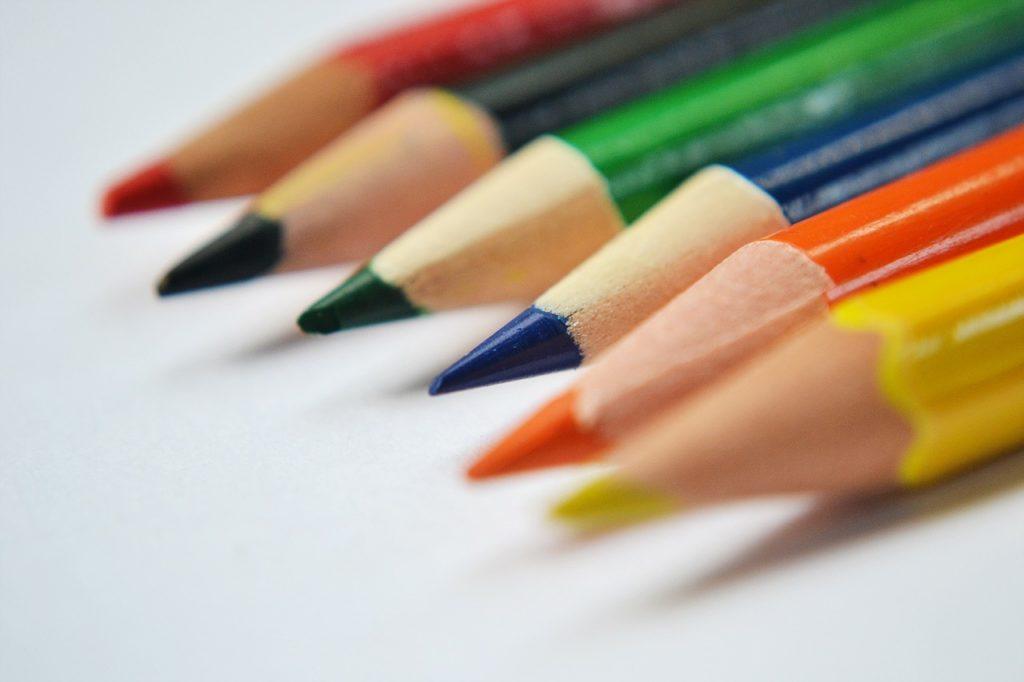 pencils, color pencils, pencil