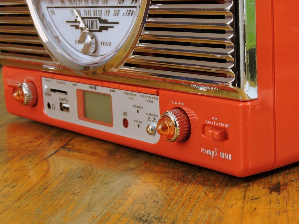 radio, volume, vintage