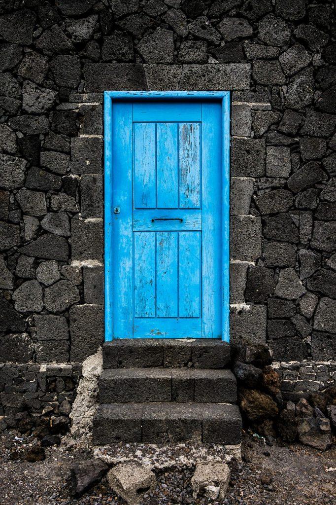 door, goal, old door